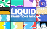 """Modello After Effects Intro #80435 """"Liquid Transitions Pack For"""""""
