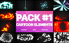 Electricity, Smoke And Fire Elements After Effects Intro Big Screenshot