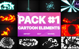 Electricity, Smoke And Fire Elements After Effects Intro