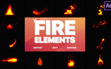 "After Effects Intro namens ""Cartoon Fire Elements"""