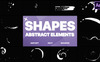 Funny Abstract Shapes After Effects Intro En stor skärmdump