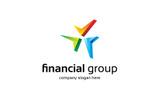 """Шаблон логотипа """"Financial Group"""""""