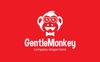 """Gentle Monkey"" Logo template Groot  Screenshot"