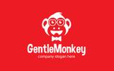 """""""Gentle Monkey"""" Logo template"""