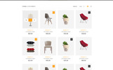 """Sokar - Furniture Shop"" modèle PSD"