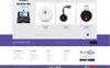 Plantilla OpenCart para Sitio de Tienda de Ordenadores Captura de Pantalla Grande
