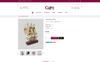 Bootstrap Gift - Online Store OpenCart-mall En stor skärmdump