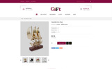 """Gift - Online Store"" thème OpenCart Bootstrap"