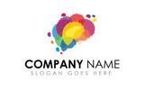 Creative Idea Brain Logo Template