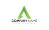 """Logo Vorlage namens """"A Letter Polygon"""" Großer Screenshot"""