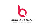 B Letter Search Logo Template