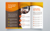 Creative Trifold Brochure Template. 2 Color Styles Corporate Identity Template Big Screenshot