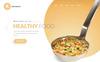 R-Restaurants Template Photoshop  №80712 Screenshot Grade