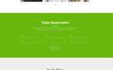 """Milus Restaurant"" PSD Template"
