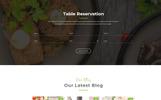 "PSD šablona ""Garam Masala Restaurants"""