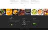 """PSD šablona """"Garam Masala Restaurants"""" Velký screenshot"""