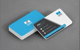 """Creative Shades Business Card"" Premium Bedrijfsidentiteit template"
