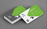"""Unternehmensidentität Vorlage namens """"Stylish Business Card"""""""