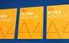 Photorealistic Flyer Product Mockup En stor skärmdump