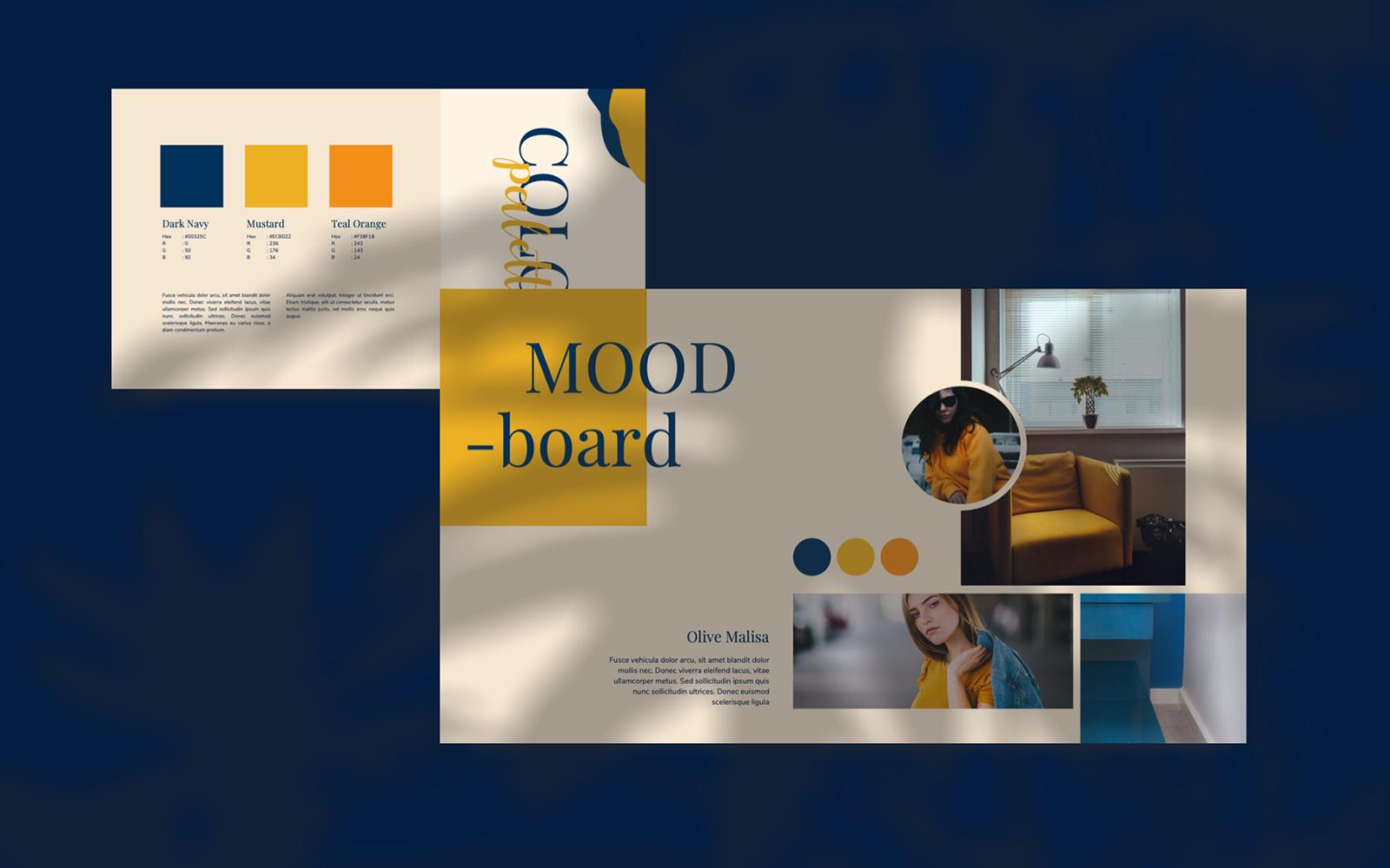 LADY VENESIA - Creative PowerPoint Template