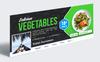 """""""Food Facebook Cover"""" design d'Entreprise  Grande capture d'écran"""