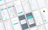 "UI prvky ""Helio to-do list iOS UI kit"""