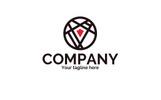 Crossing Roads Logo Şablon