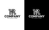 H + R Logo Şablon
