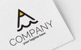 """Logo Vorlage namens """"A + M + Pencil"""""""