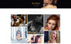 "Modello PSD Responsive #82013 ""Barber Salon - Barbers & Hair Salons"" Screenshot grande"