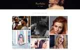 "Modello PSD Responsive #82013 ""Barber Salon - Barbers & Hair Salons"""