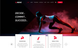 Move | Fitness&Gym PSD Template