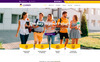 Learner | Education PSD Template Big Screenshot