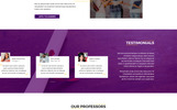 Learner | Education PSD Template