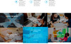 Rise | Consulting Template Photoshop  №82374 Screenshot Grade