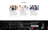 Rise | Consulting Template Photoshop  №82374