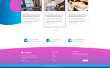 Crypton   Cryptocurrency PSD Template