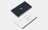 Classic Business Cards Corporate identity-mall
