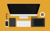 """""""Flat Desk Scene Creator"""" illustration  Grande capture d'écran"""