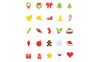 "Template Pacchetto Icone #82165 ""Christmas Vector"" Screenshot grande"