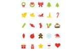 "Template Pacchetto Icone #82165 ""Christmas Vector"""