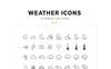 Weather Icons and Font Ikon csomag sablon Nagy méretű képernyőkép