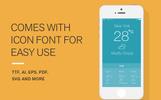 Weather Icons and Font Ikon csomag sablon