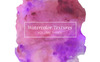 Purple Watercolor Textures Illustration Big Screenshot