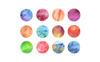 "Illustration namens ""Multicolored Watercolor Pack"" Großer Screenshot"