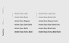 Ardent Sans - A Modern Font Family Font Big Screenshot