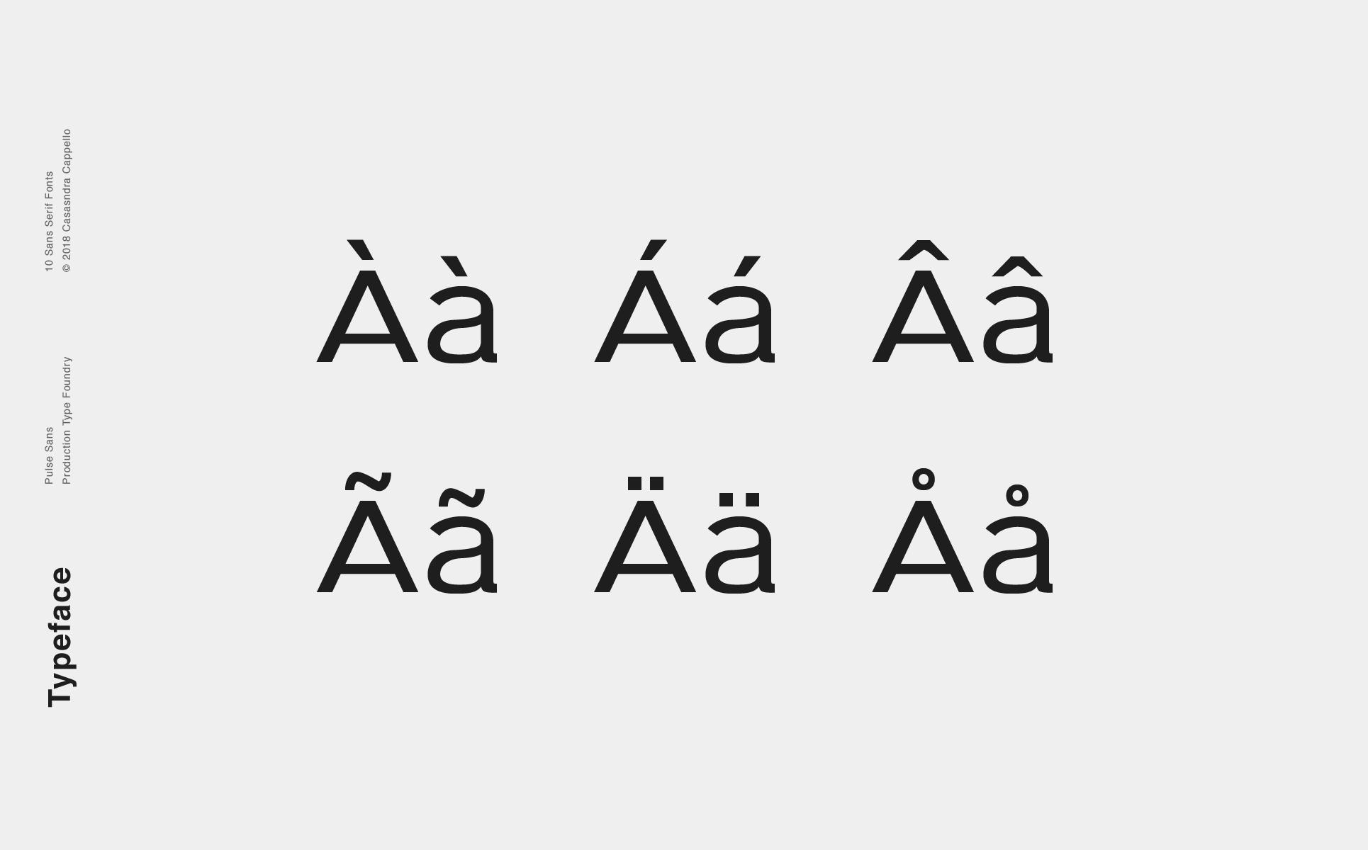 Modern Fonts 2018