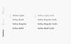 Selma - A Classy Serif Typeface Font Big Screenshot