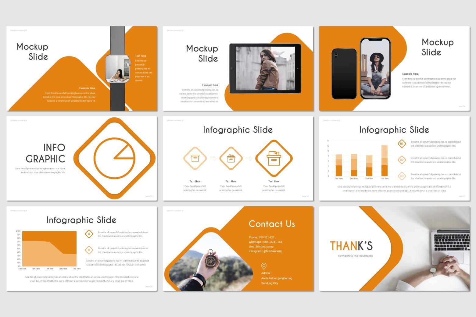 Blindas PowerPoint Template