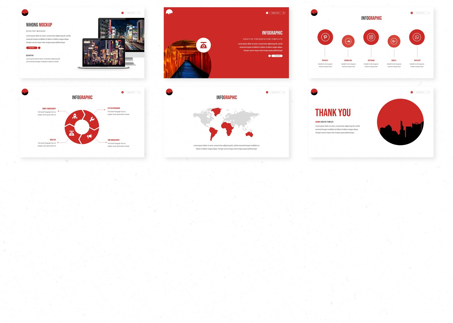 Nihong PowerPoint Template